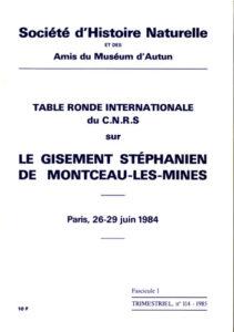 Le gisement stéphanien de Montceau-les-Mines