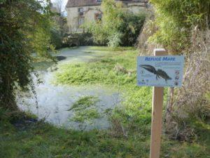 Refuge Mare de Bourgogne, Mare de Mézilles, hameau des Soupirons