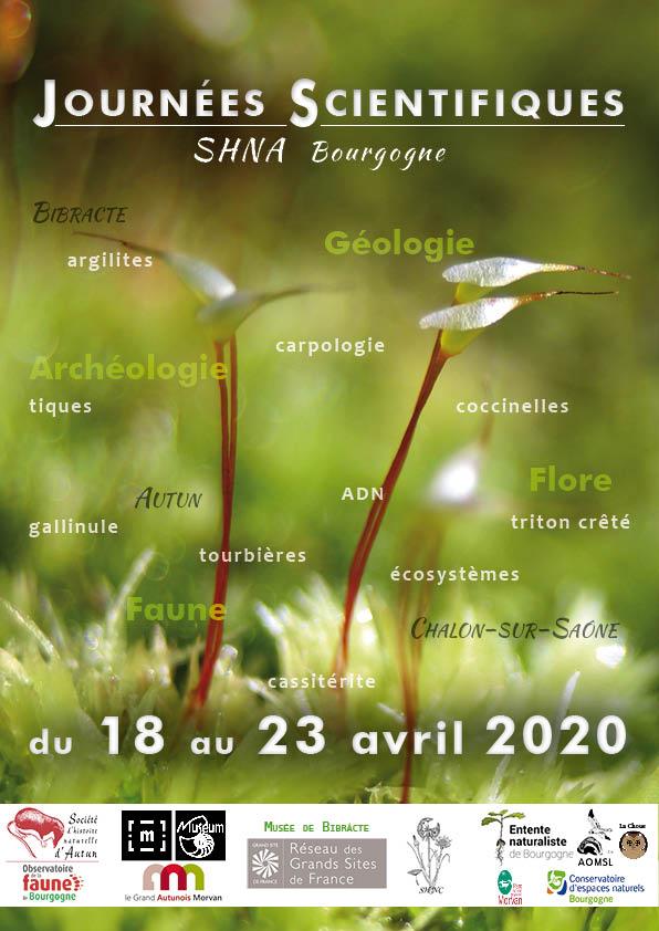 Affiche Journées scientifiques 2020